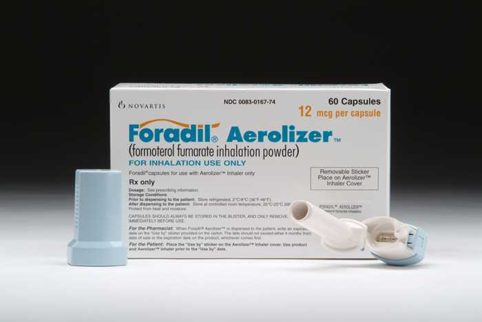 Foradil - patient information, description, dosage and