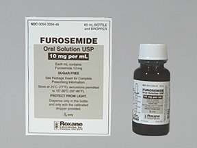 Furosemide Solution - patient information, description