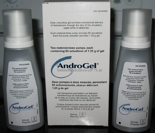 AndroGel Gel - patient information, description, dosage