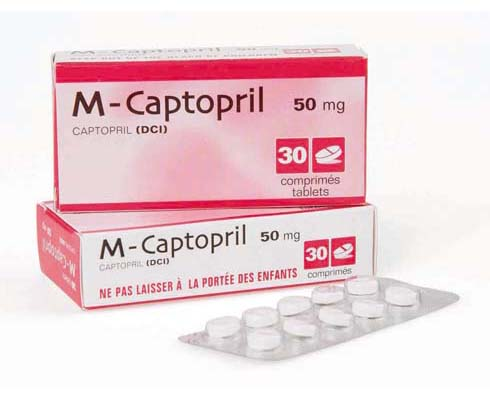 Captopril - patient information, description, dosage and