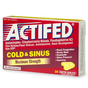 Aleve Cold And Sinus Patient Information Description