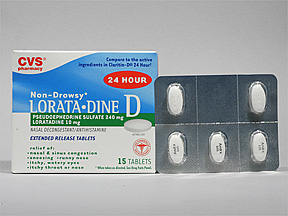 loratadine and pseudoephedrine - patient information