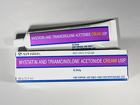 what does nystatin triamcinolone do