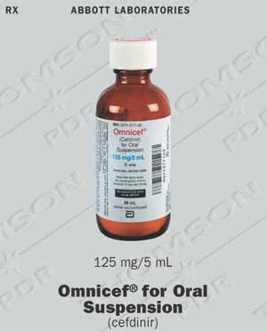 Omnicef Suspension - patient information, description