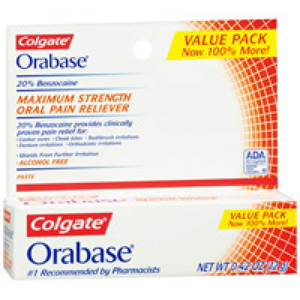 Orabase Gel-B - patient information, description, dosage ...