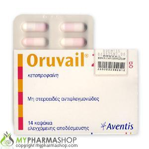 Oruvail - patient information, description, dosage and