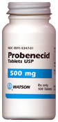 Probenecid And Colchicine Dosage