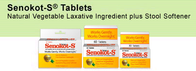 Senokot S Patient Information Description Dosage And