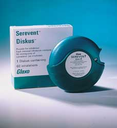 Serevent - patient information, description, dosage and