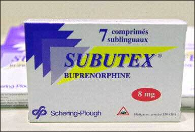Drugs reference index « Subutex »