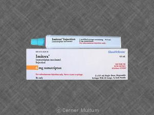 Sumatriptan Injection Patient Information Description
