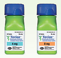 Toviaz - patient information, description, dosage and