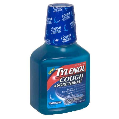 Drugs reference index « Tylenol Cough/Sore Throat Liquid »