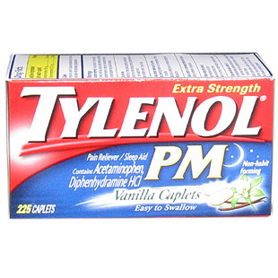 Drugs reference index « Tylenol Extra Strength PM Vanilla Caplet »