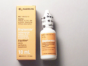 corticosteroid eye drops brand names