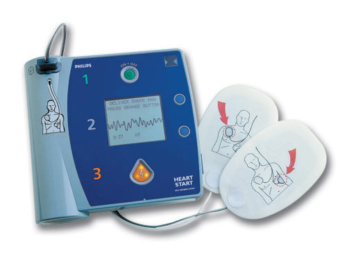 Defibrillator, automated external. Causes, symptoms, treatment ...